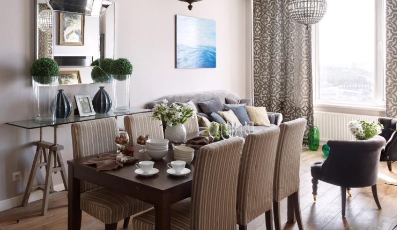Дизайн интерьера квартиры в стиле Американская классика
