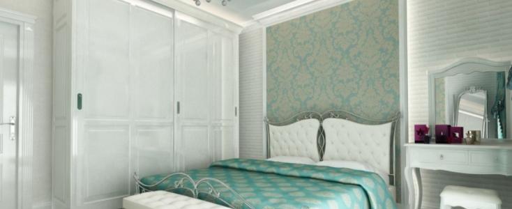 Дизайн интерьера спальни в стиле Ампир
