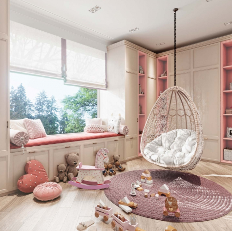 Дизайн-проект интерьера дома в стиле арт-деко