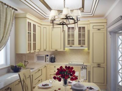 Дизайн интерьера кухни в стиле Барокко