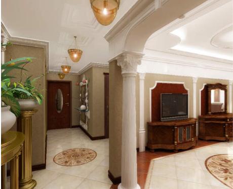 Дизайн интерьера квартиры в стиле Барокко