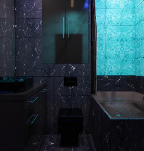 Дизайн-проект интерьера квартиры в стиле готика