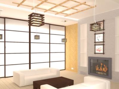 Дизайн интерьера гостиной в Китайском стиле
