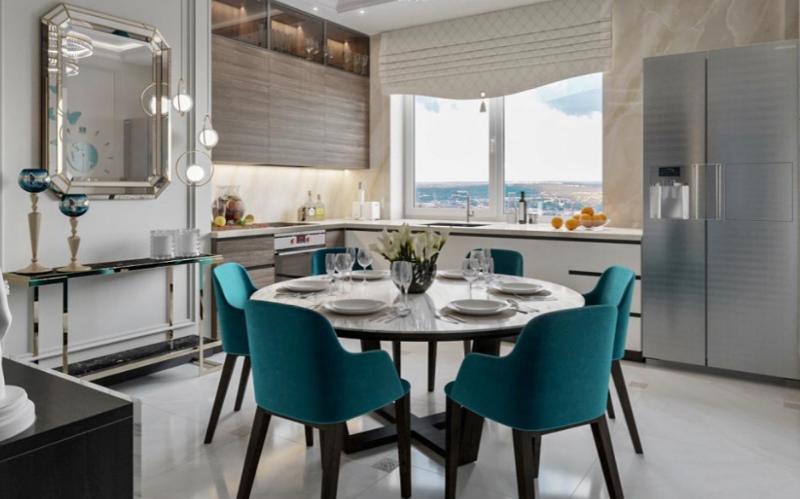 Дизайн интерьера квартиры в стиле Контемпорари