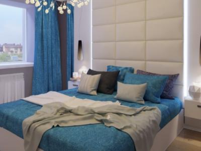 Дизайн интерьера спальни в стиле Лофт