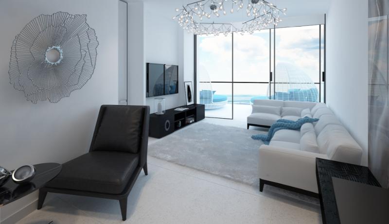 Дизайн интерьера апартаментов в стиле Минимализм