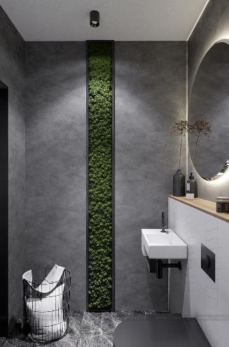 Дизайн интерьера санузла в стиле Минимализм