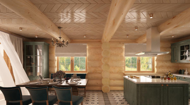 Дизайн интерьера дома в стиле Модерн