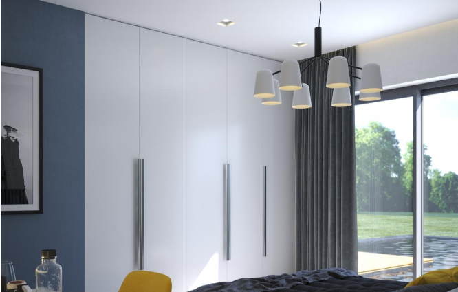 Дизайн интерьера спальни в Скандинавском стиле