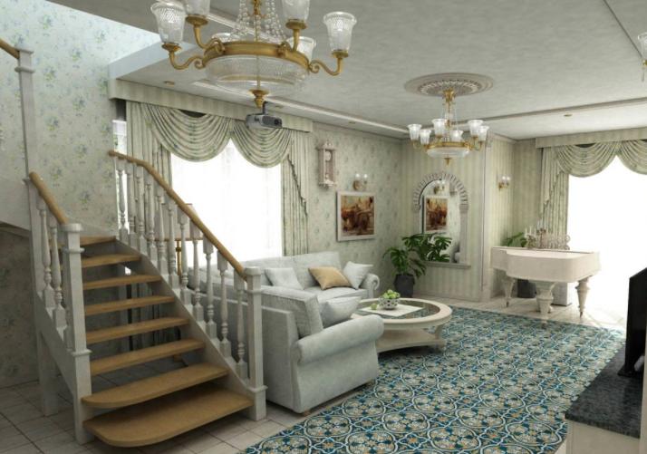 Дизайн интерьера дома в Французском стиле