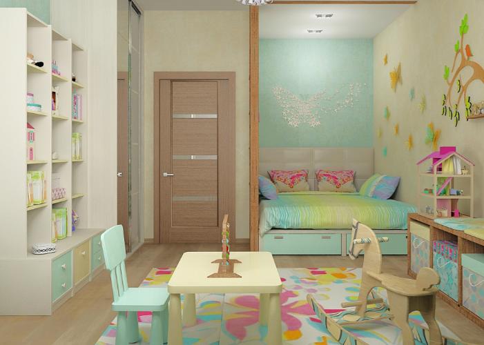 Дизайн интерьера квартиры в Эко-стиле