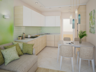 Дизайн-проект интерьера квартиры в эко-стиле