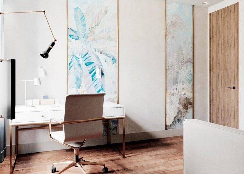 Дизайн-проект интерьера апартаментов (170 м²)