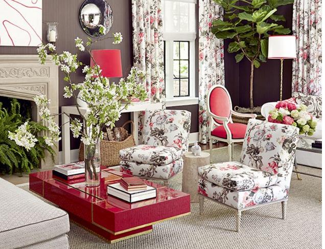 Дизайн-проект интерьера гостиной в стиле прованс