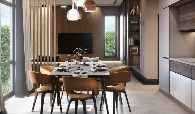 Дизайн интерьера дома в стиле Современная классика