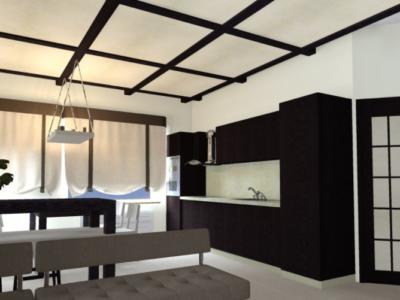 Дизайн интерьера квартиры в Японском стиле