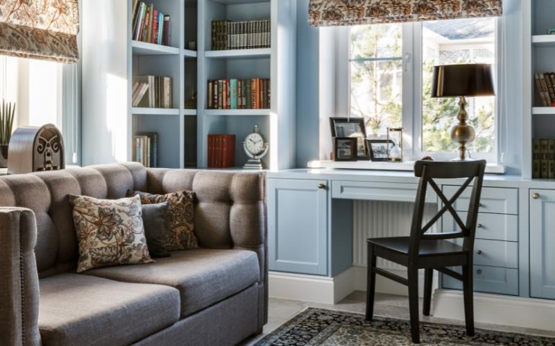 Дизайн интерьера дома в стиле Американская классика