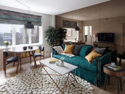 Дизаайн-проект апартаментов в стиле ретро