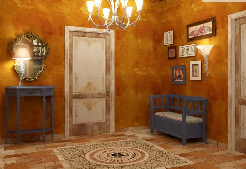 Дизайн-проект интерьера дома в стиле Прованс