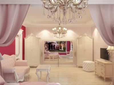 Дизайн-проект интерьера спальни в стиле ампир
