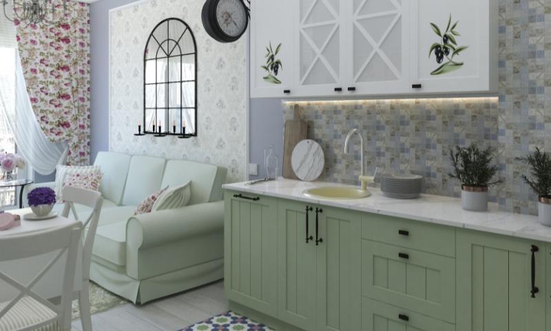 Дизайн интерьера квартиры в стиле Прованс