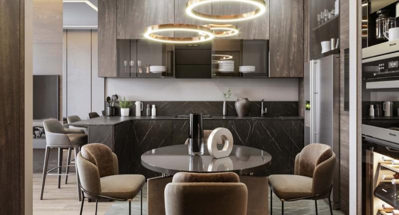 Дизайн-проект интерьера квартиры в стиле модерн