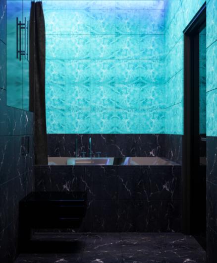 Дизайн-проект интерьера квартиры в готическом стиле