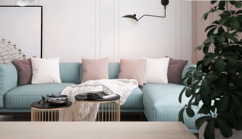 Дизайн-проект интерьера квартиры в стиле поп-арт