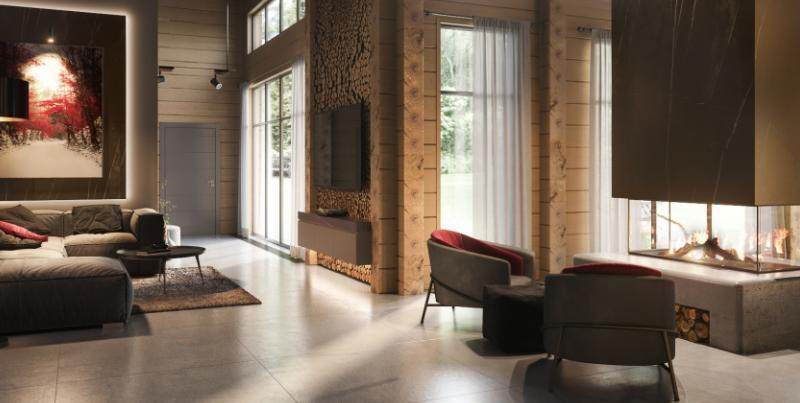 Дизайн интерьера дома в Эко-стиле