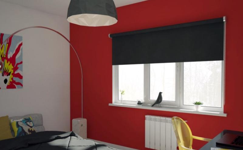 Дизайн интерьера спальни в стиле Поп-арт
