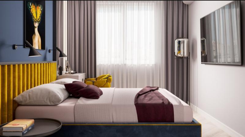 Дизайн-проект интерьера квартиры в стиле минимализм