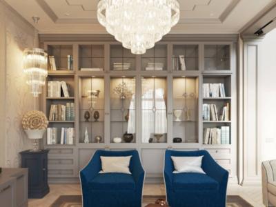 Дизайн-проект интерьера дома в стиле современная классика