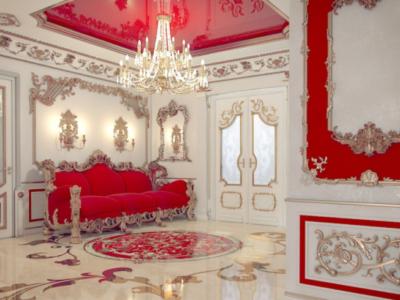 Дизайн интерьера дома в стиле Барокко