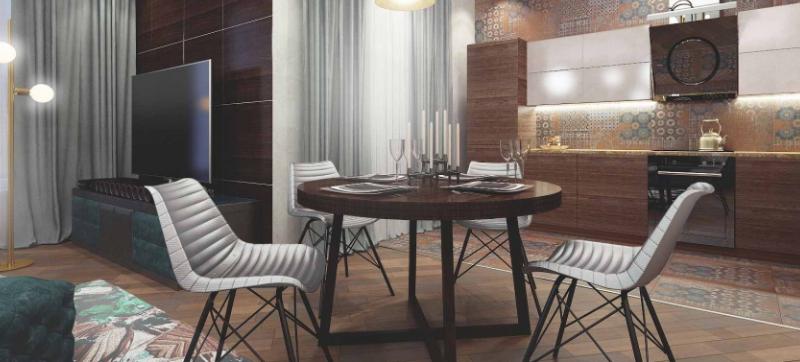 Дизайн интерьера квартиры в стиле Лофт