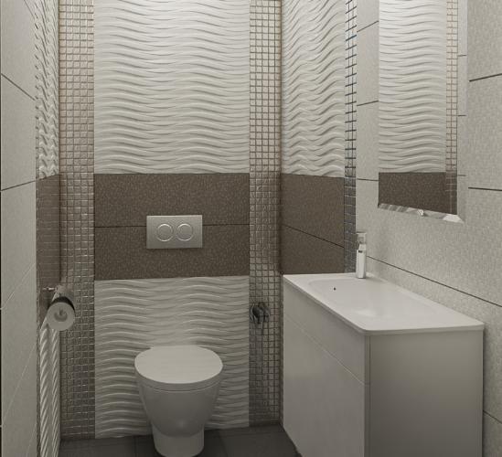 Дизайн-проект интерьера квартиры в стиле хай-тек