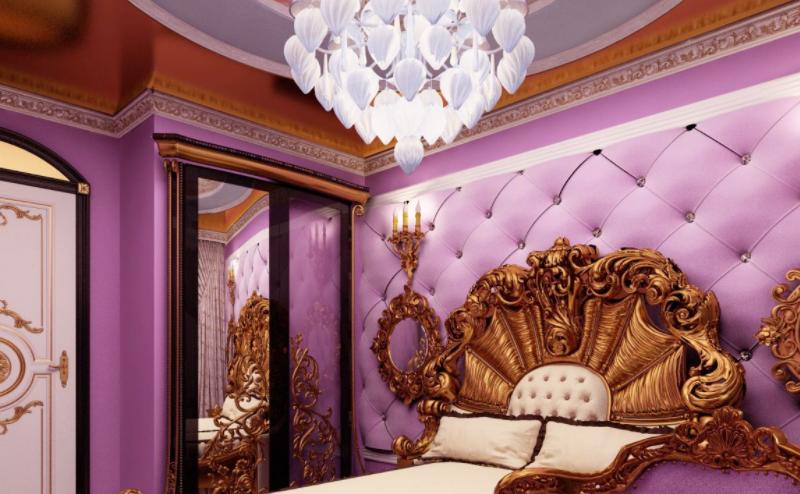 Дизайн-проект интерьера квартиры в стиле барокко